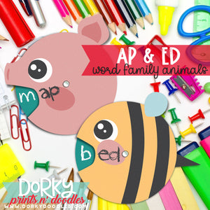 Word Families - AP and ED
