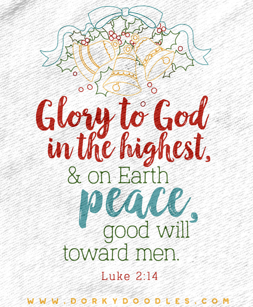 Merry Christmas - Glory to God in the Highest