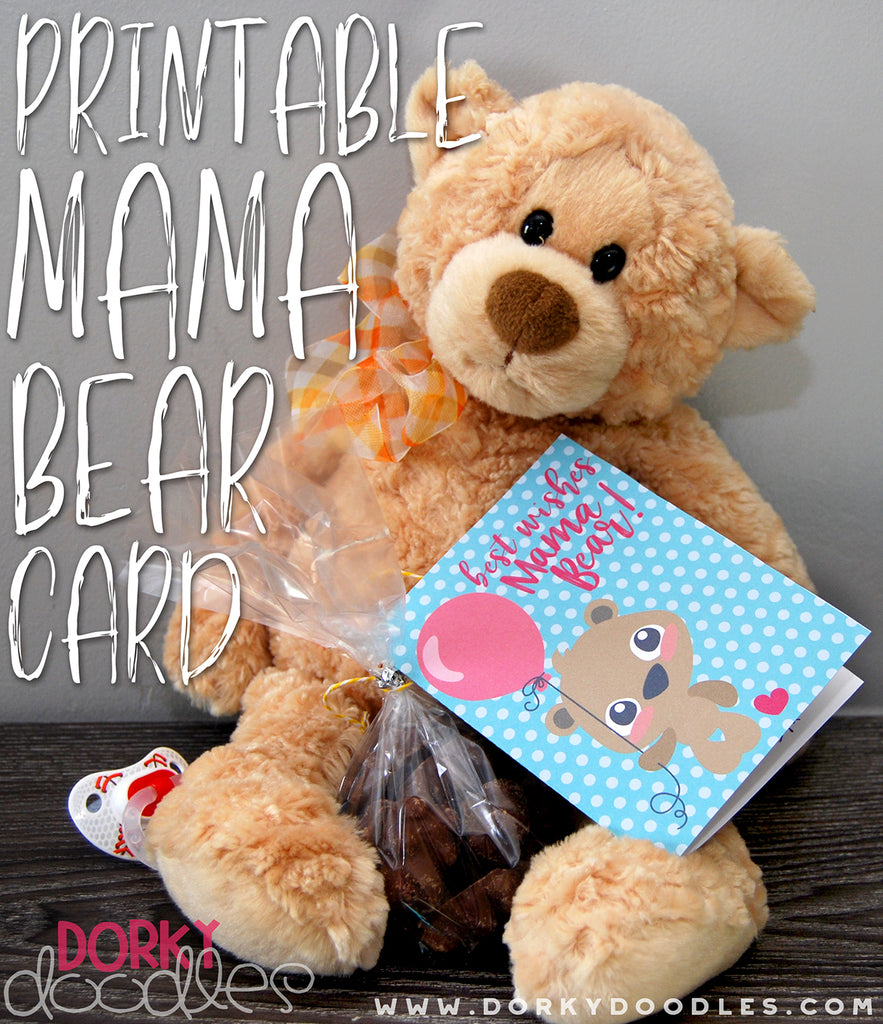 Mama Bear Printable Card