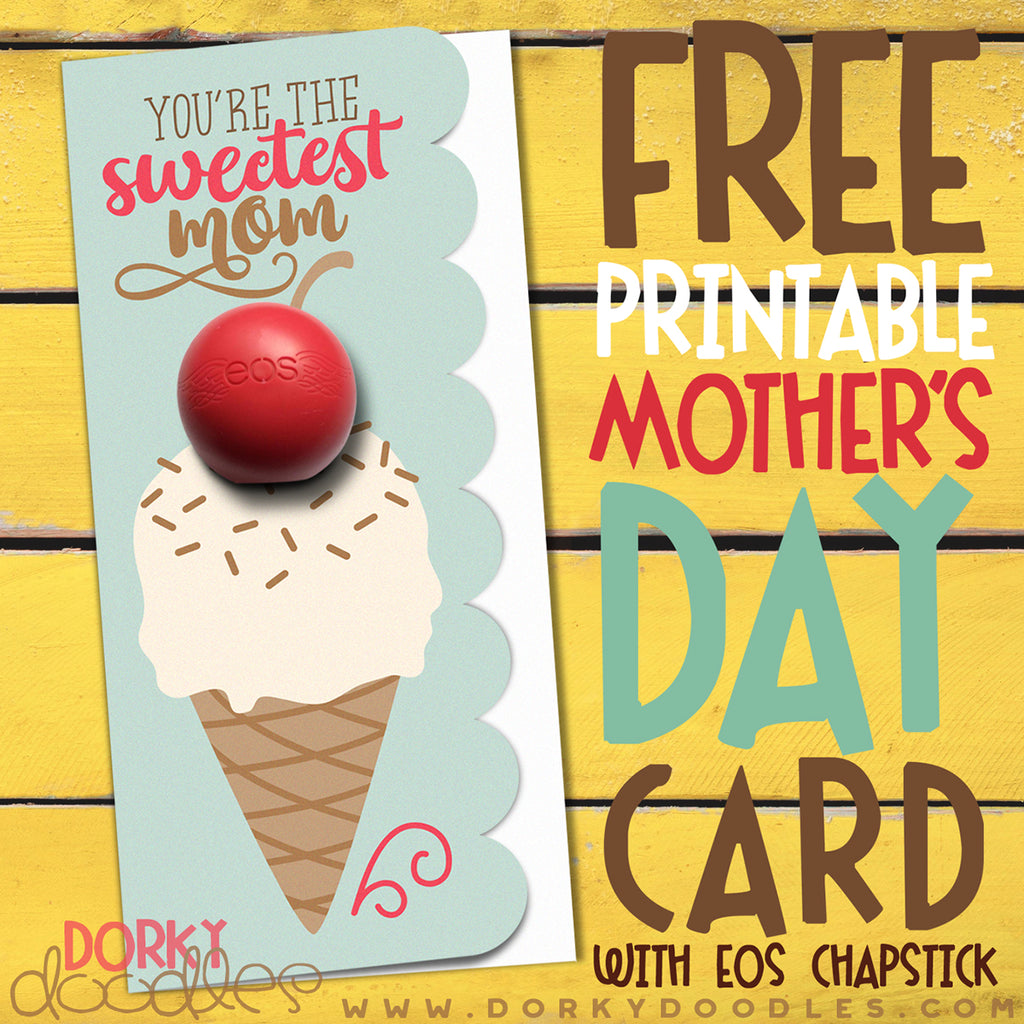 Free Mother's Day Card with EOS Chapstick