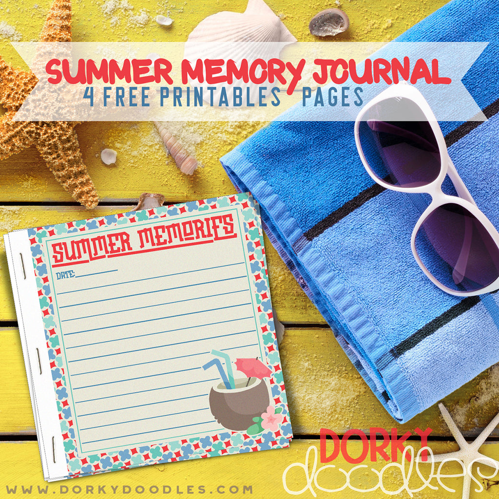 Record Summer Memories- Free Printable