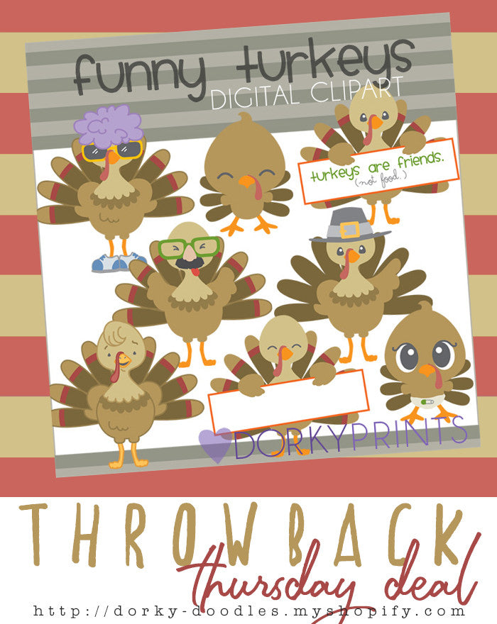Throwback Thursday Deal: Silly Turkeys
