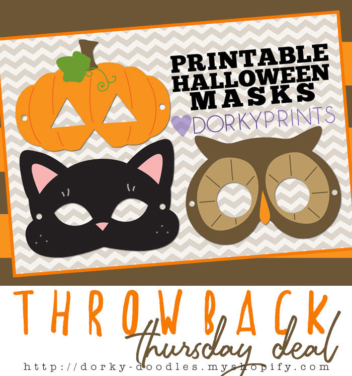 Throwback Thursday Deal: Halloween Masks