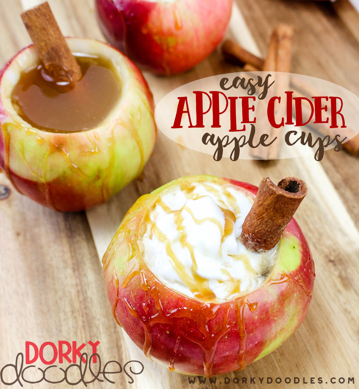 apple cider apple cups