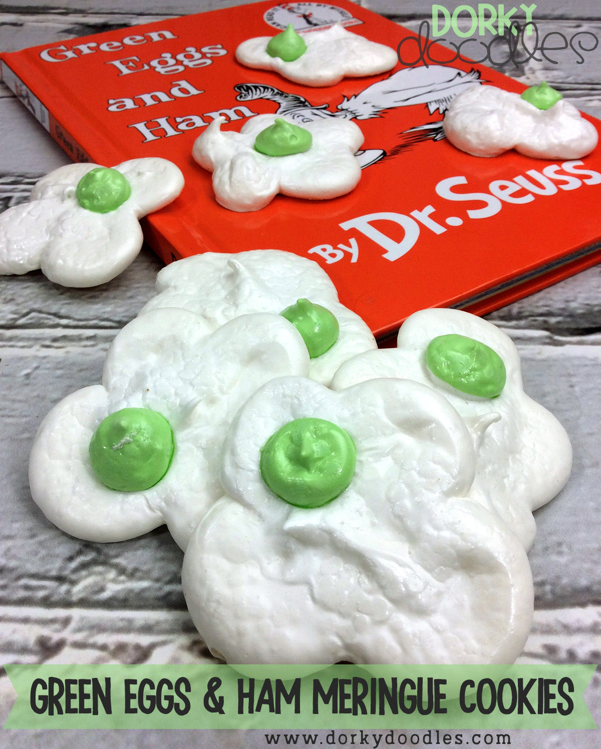 Dr Seuss Green Eggs and Ham Cookies Recipe