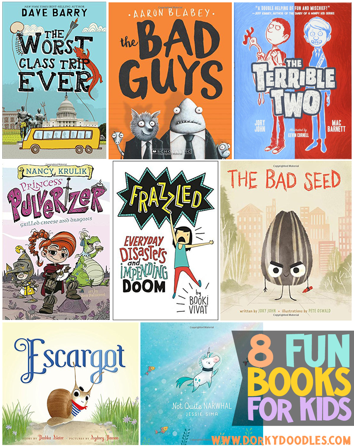 8 fun books for kids to read