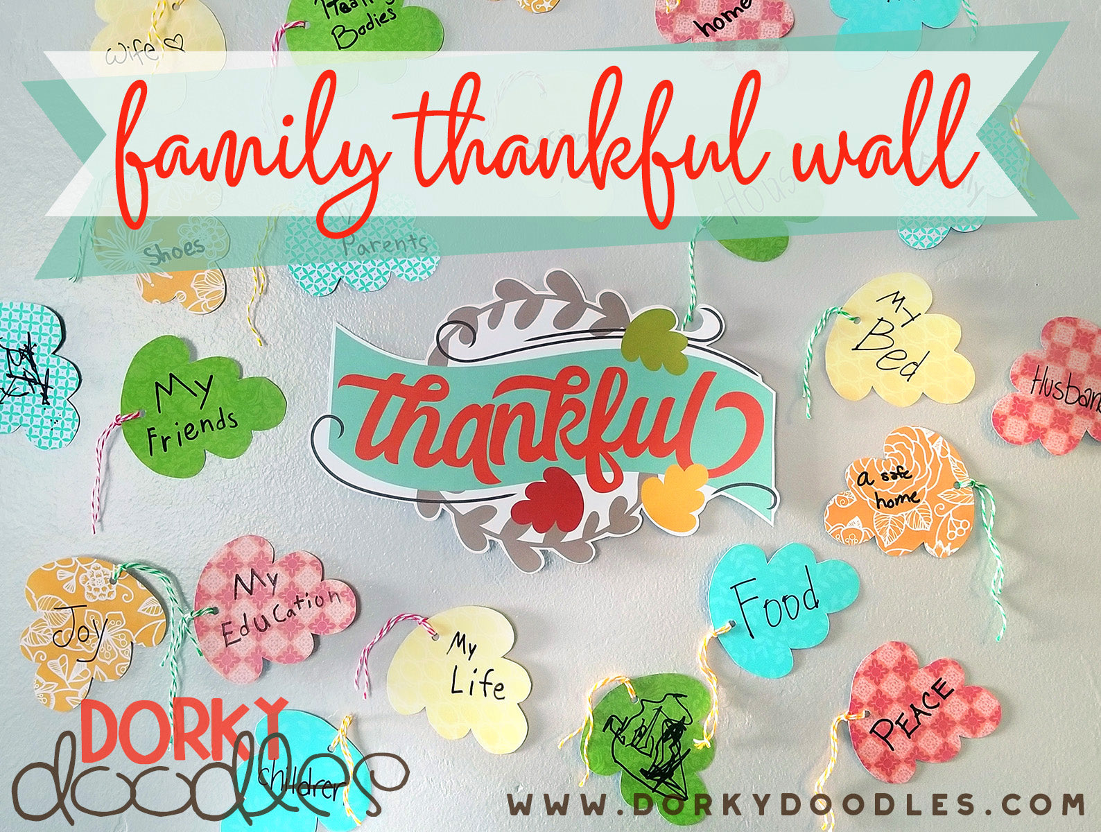 Thankful activity for kids