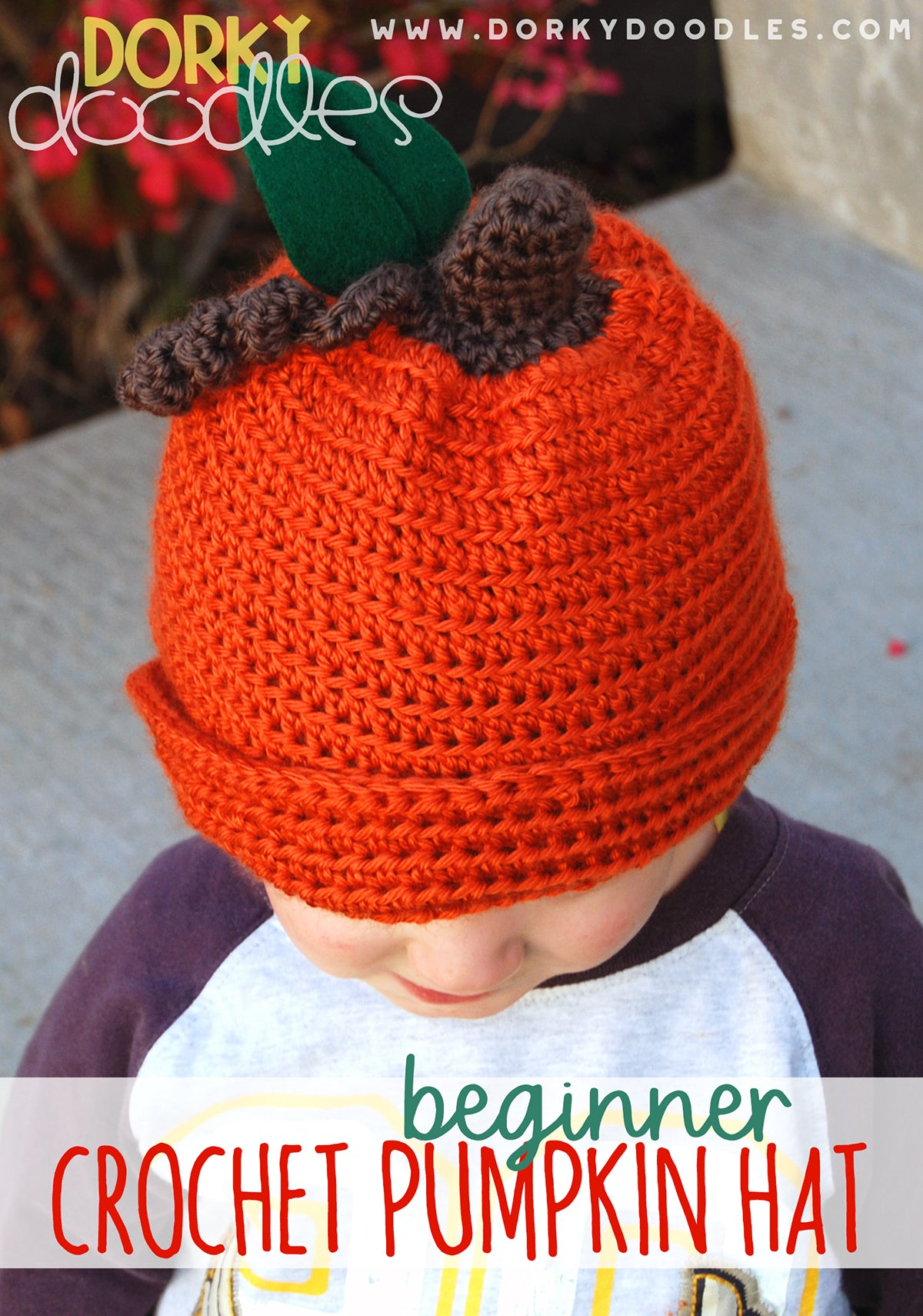 easy crochet pumpkin hat