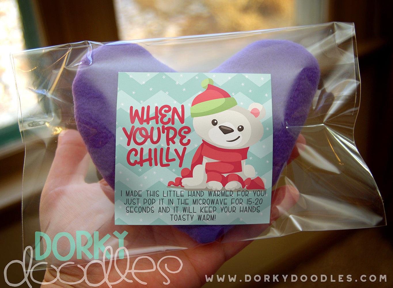 hand warmer to make and free printable