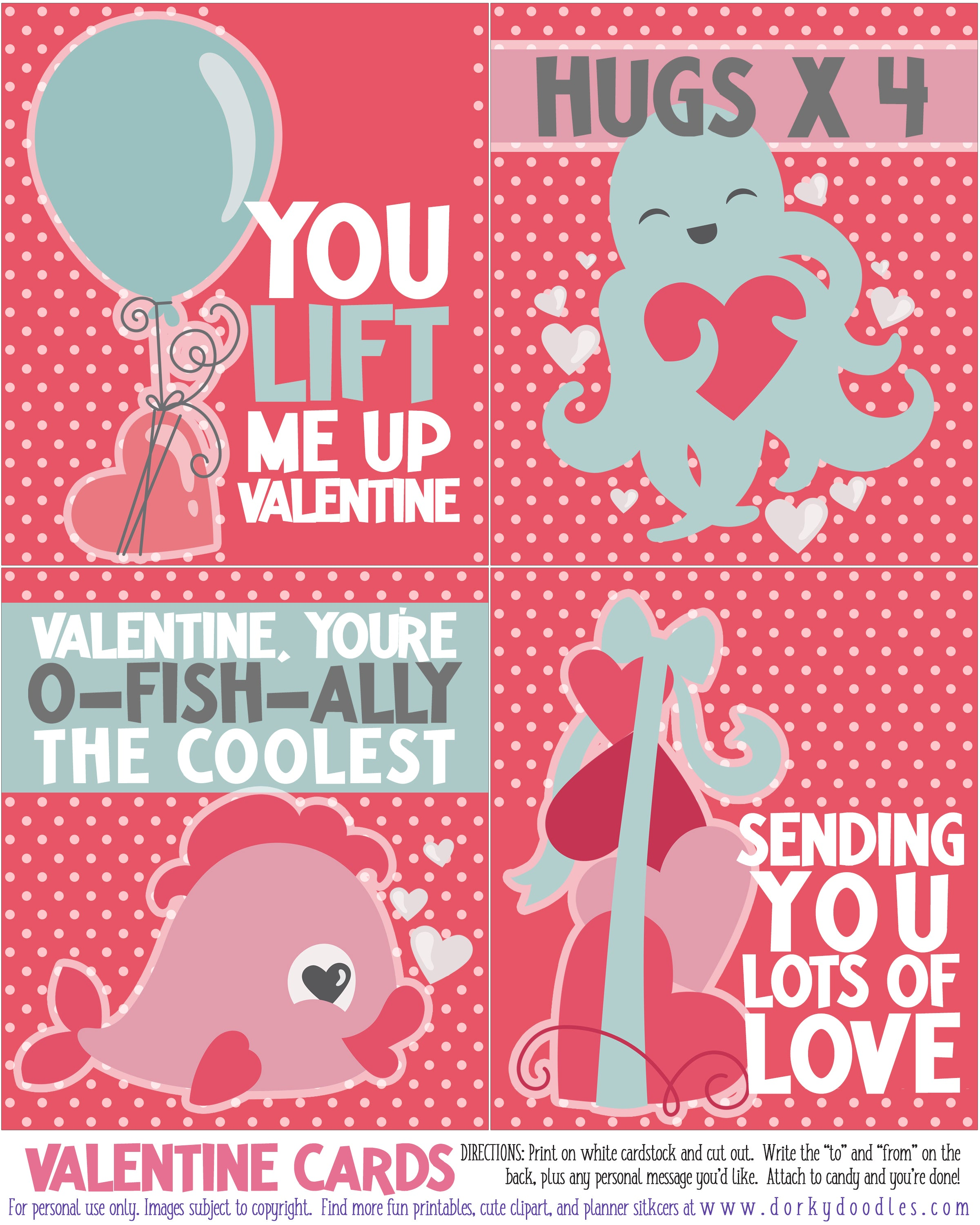 cute valentines for kids to print and cut at home