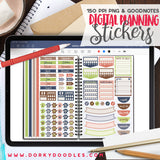 Dog Lover Extra Digital Planner Stickers