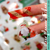 Christmas at the Cabin Clear Planner Stickers