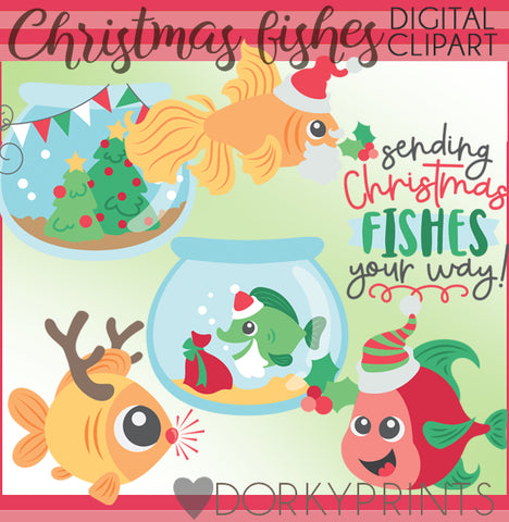 Best Fishes Christmas Clipart