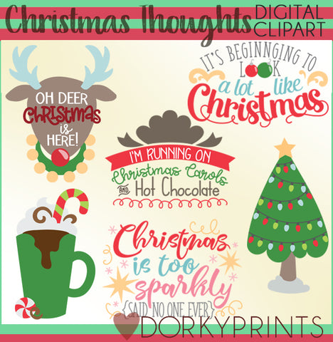 Cute Christmas Clipart