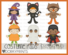 Halloween Kids Cuttable Files