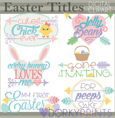 Easter Sayings Spring Clipart