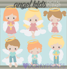 Angel Kid Clipart