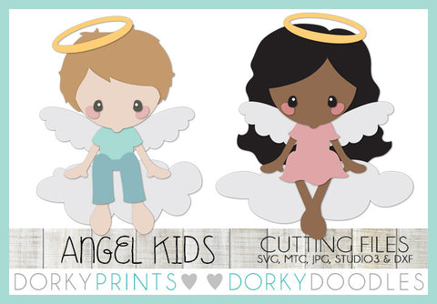Angel SVG Cuttable Files