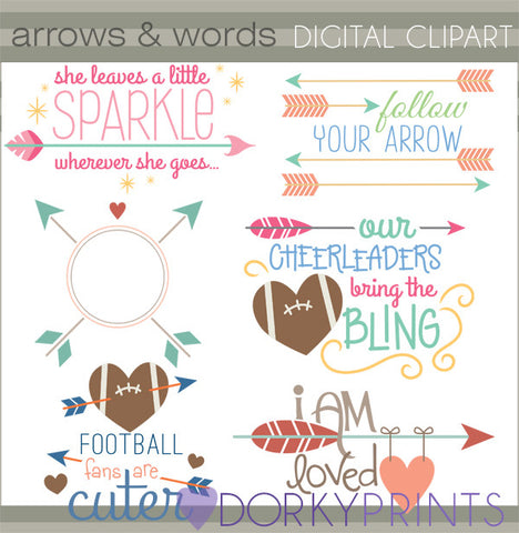 Arrow Quotes Clipart