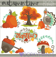 Autumn and Thanksgiving Clipart