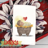 Baby Jesus Christmas Watercolor PNG