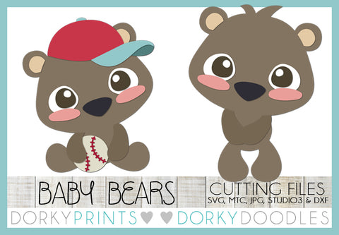 Baby Bear Cuttable Files