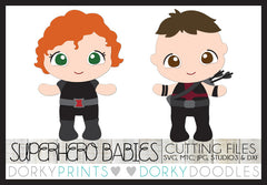 Baby Superhero Cuttable Files