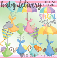 Delivery Babies Clipart