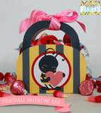 """Bee Mine"" Valentine Treat Bag Holiday Printables"