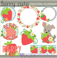 Strawberry Food Clipart