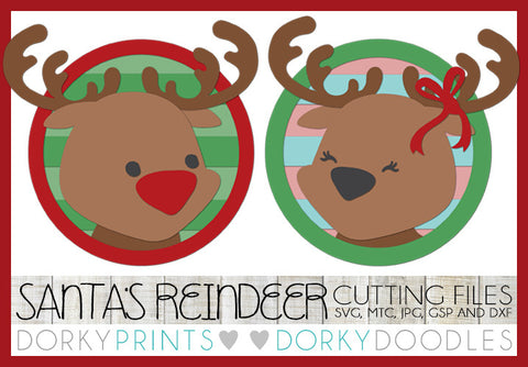Reindeer Cuttable Files