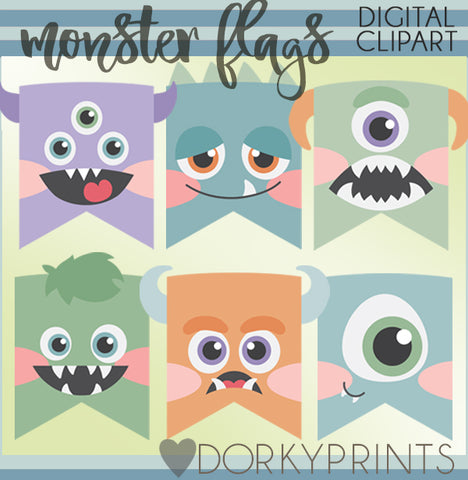 Boy Monster Clipart