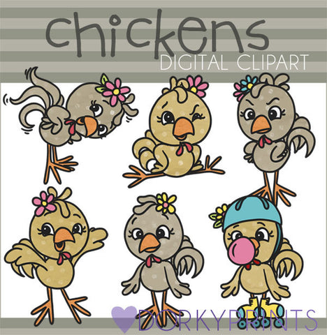 Chicken Digital Clip Art