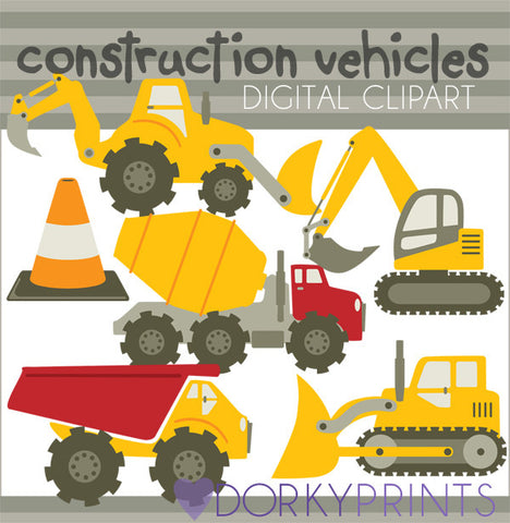 Construction Vehicle Clip Art