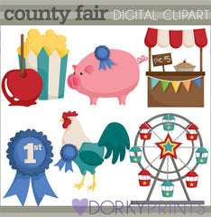 County Fair Summer Clipart
