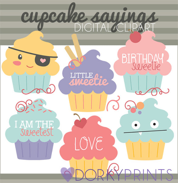 Cupcakes Food Clipart