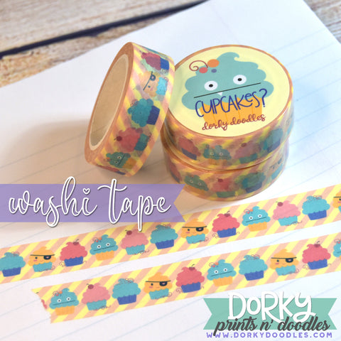Cute Cupcake Washi Tape