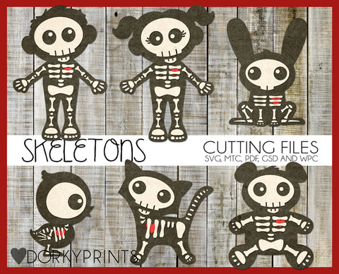 Skeletons Cuttable Files