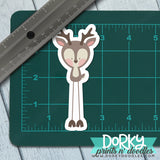 Cute Deer Large Waterproof Sticker