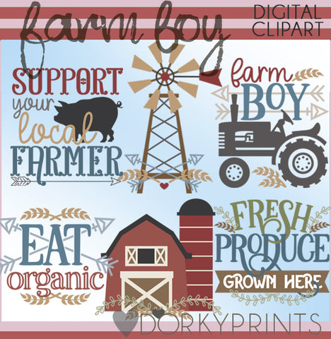 Farm Boy Clipart