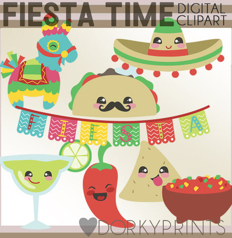 Fiesta Time Holiday Clipart