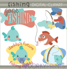Fishing Summer Clipart