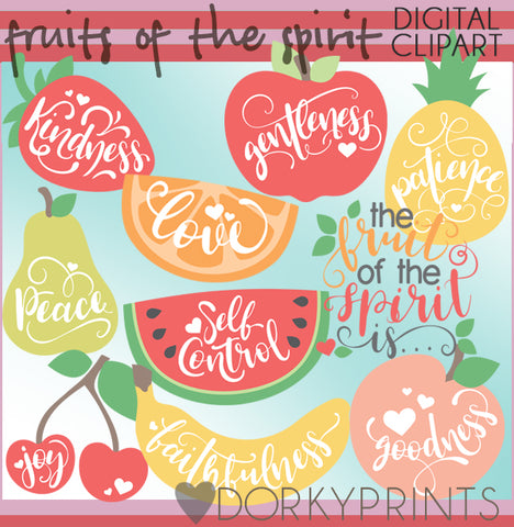 Fruits of the Spirit Food Clipart