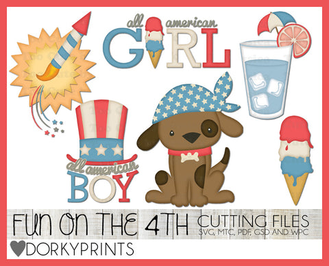 4th of July Cuttable Files