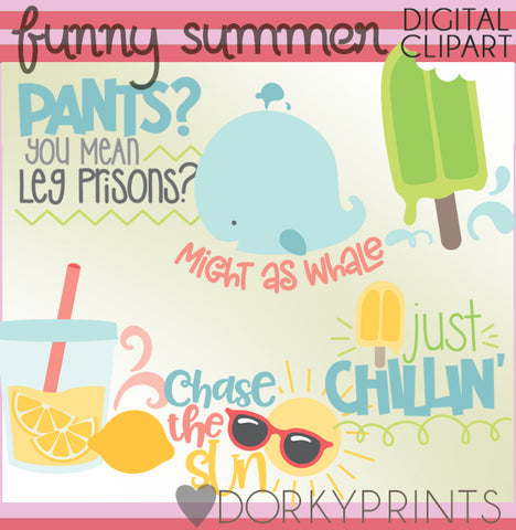 Funny Summer Clipart