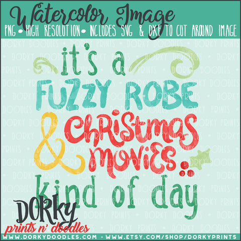 Christmas Movies Watercolor PNG