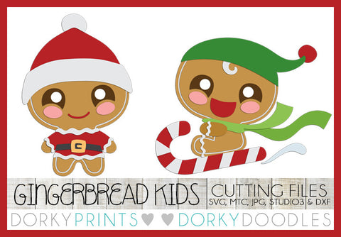 Christmas Gingerbread Man Cuttable Files