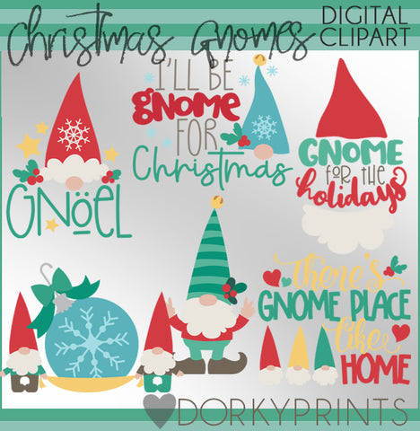 Gnome for Christmas Clipart