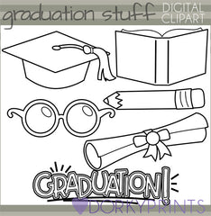 Graduation and School Clipart