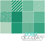 Green Digital Paper Pack